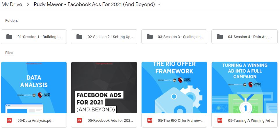 Rudy Mawer – Facebook Ads For 2021